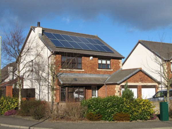 Solar roof in Dundee