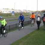 Lack of provision for walkers and cyclists in Waterfront development