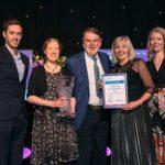 Bonnie Dundee win Sliver Gilt Award